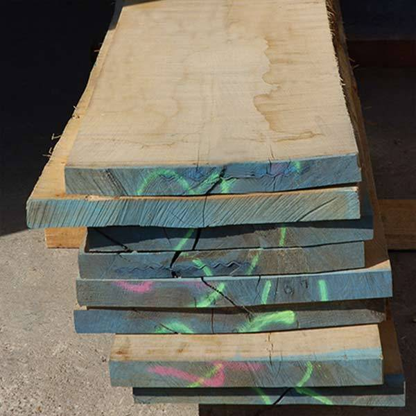 Oak Timber Sawn Boards